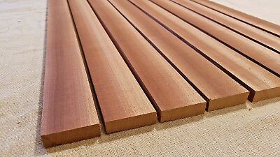African Mahogany / Sapele Boat Deck Solid Wood Slats - Multiple Sizes - 15Mm