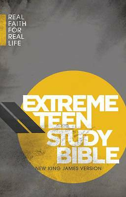 Extreme Teen Study Bible-NKJV: Real Faith for Real Life, Thomas Nelson Publisher