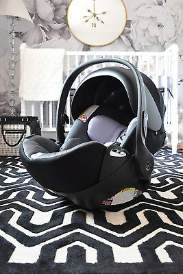 Cybex Cloud Q Infant Car Seat with Load Leg Base in Moon Dust