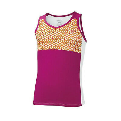 WILSON Sweet Success Girls Tank Tennis Top Sports Kids Children's