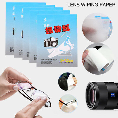 Lens Cleaning Paper Wipes Portable Cheap Paper 5 X 50 Sheets Mobile Phone