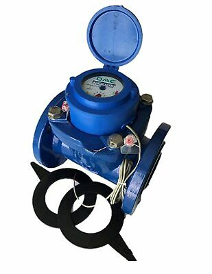 "DAE WP-300P 3"" Woltmann Helix Water Meter, Pulse Output, Gallon"