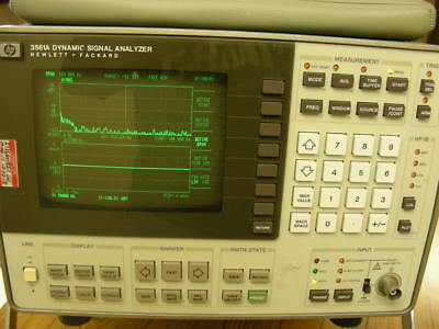 HP 3561A Dynamic Signal Analyzer 100% working and calibrated Oct 2017