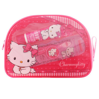Cosmética Hello Kitty mujer CHARMMY KITTY NECESER DENTAL LOTE 3 pz