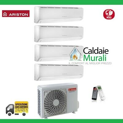 Climatizzatore Ariston Quadri Inverter Alys Plus 9+9+12+12 Btu + Quad 110 Xd0C-O