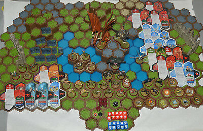 Heroscape Master Set Rise of the Valkyrie 1st Edition 2004 (No Manual)