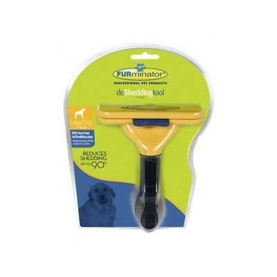 FURminator Short Hair deShedding Tool Large for Dogs 4 Inch