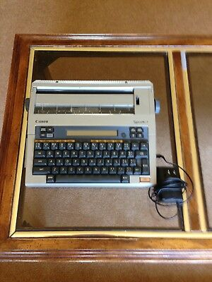 Vintage Canon Typestar 7 Electric Typewriter, power cord and manual, 2 new ribbo