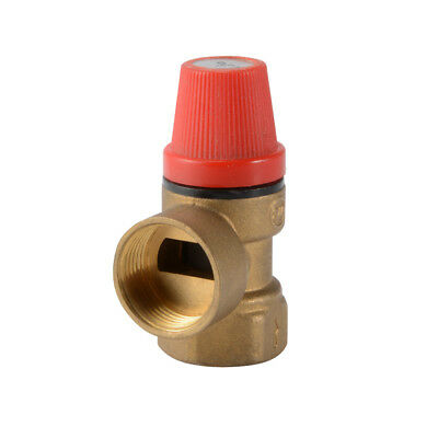 6 Bar Safety Relief Valve FxF for Solar Thermal Boiler Heating System HS1092