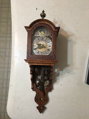 Vintage Warmink Dutch Moonphase Wall Clock