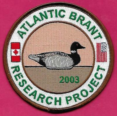 Pa Pennsylvania Game Fish Commission 2003 Atlantic Brant Research Project Patch