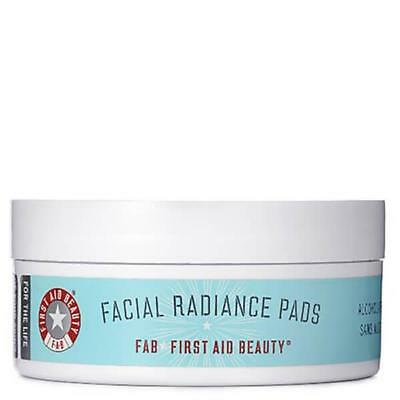 First Aid Beauty Facial Radiance Pads Exfoliate, Tone & Brighten 28 Pads Sealed