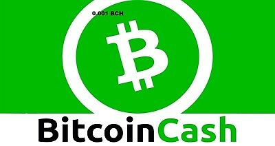 BCH Bitcoin Cash 1Hour Mining Contract on 40TH/S speed (0.001 BCH)