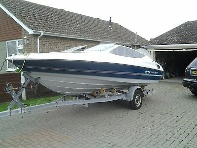 Bayliner 18ft Capri Boat with Rollercoaster Trailer by Knott