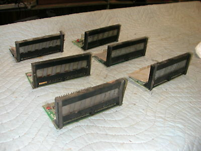 Bally 6 Digit Displays--Lot Of 6--Parts Or Repair