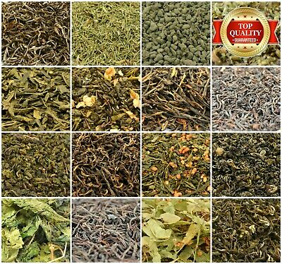 Loose Leaf Tea 34+ Types! Green Tea, Red Tea, Black Tea, Oolong Tea, Herbal Tea