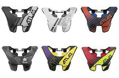 2018 Atlas Air Motocross Dirtbike Neck Brace - Pick Size Color