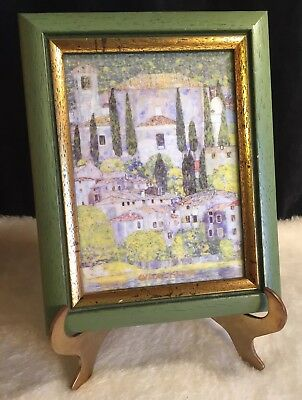 Goebel Artis Orbis Gustav Klimt Church At Cassone Framed