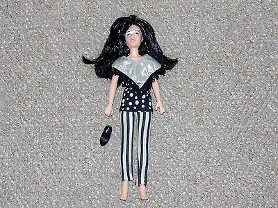 1987 Hasbro Jem & the Holograms Jetta Doll with Some Accessories