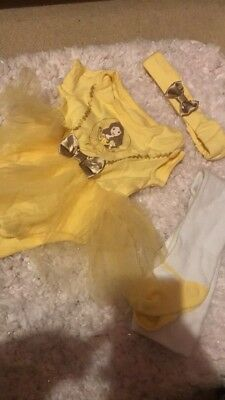Belle Baby Dressing Up Costume 0-3 Months