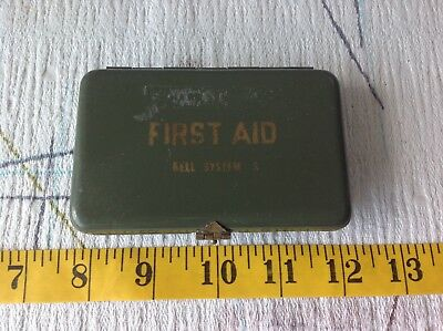 Vintage Bell System -S First Aid Kit with contents