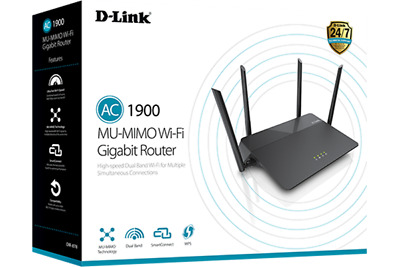 New D-Link DIR-878 Dual Band AC1900 MU-MIMO Wi-Fi Router