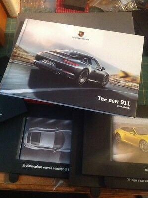Porsche Brochure 911 Ever Ahead With The Slides