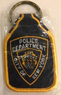 Police Department  City Of New York Key Chain