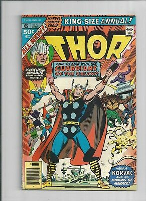 The Mighty Thor King Size Annual #6 The Guardians Of The Galaxy   Very Fine Cond