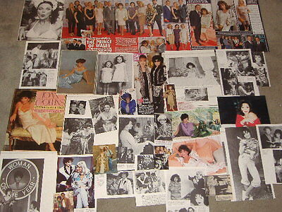 JOAN COLLINS - Over 30 clippings