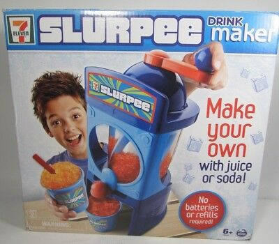 7-11 SLURPEE DRINKER MAKER MACHINE NEW FACTORY SEALED BAGS Spin Master
