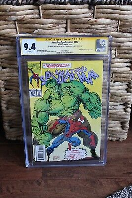 Amazing Spider-Man 382 - CGC Signature Series 9.4 (NM) - W Pages - FREE SHIPPING