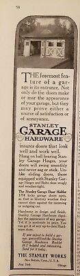 The Stanley Works 1917 House and Garden 3 print ads