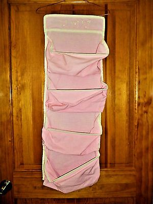 Koala Baby Pink  4 Pocket Hanging Wall Organizer Toys Underwear Socks Storage