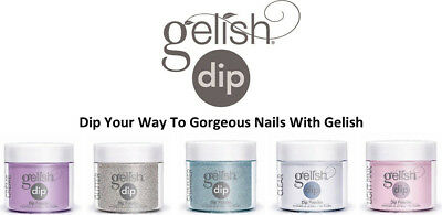 Gelish Dip SNS Dipping Powder Nail System 23g (Your Choice of Colour/s)
