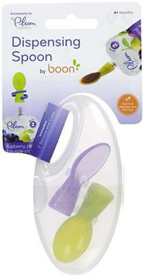 PLUM Organics Baby Dispensing Spoon 2 ct By Boon 4+ Months New With Case