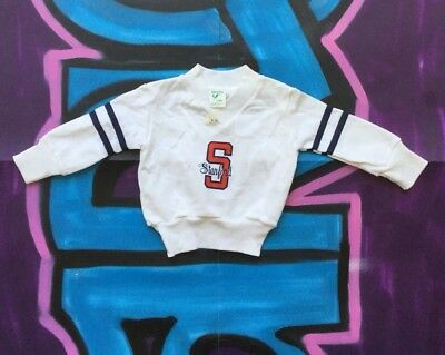 Baby Toddler Sweater Stanford Vintage 1 year 12 month old Crewneck