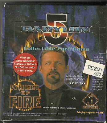 Babylon 5 CCG - Wheel of Fire - Booster Box - 24 packs - B5