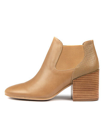 fd12229bf113be New Silent D Wileys Latte Emb Leather Womens Shoes Casual Boots Ankle