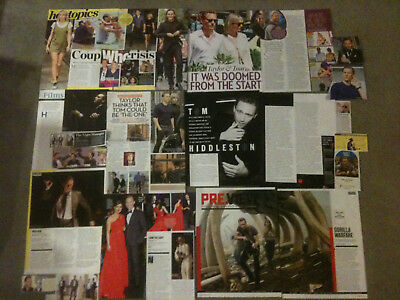 TOM HIDDLESTON - Over 20 clippings - Taylor Swift