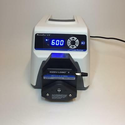 NEW - Peristaltic Pump Cole Parmer Masterflex 07528-10 Easy Load 2 Head 6-600RPM