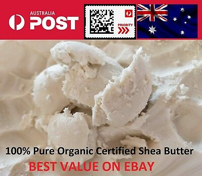 Shea Nut Butter 100% PRIORITY POST Organic Pure Natural Unrefined 100 Grams