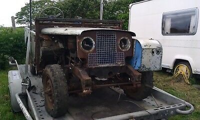 1957 Land Rover Series 1 Barn find
