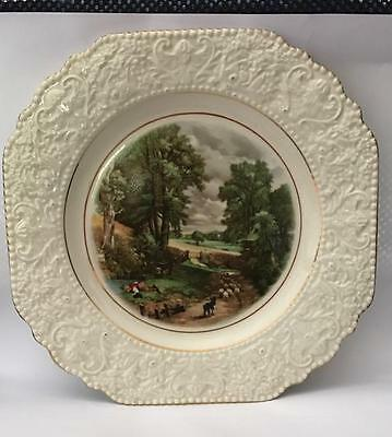 "Nelson Ware Plate - Constable - ""The Cornfield"""