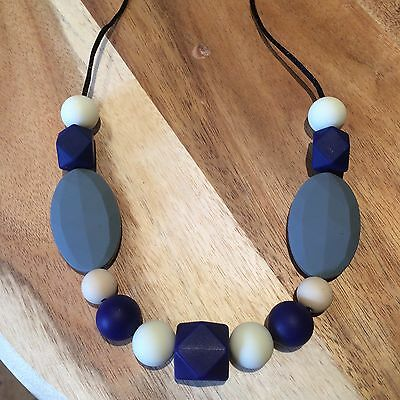 Silicone Necklace for Mum Sensory Beads Nursing Aus Gift Present on Sale free po