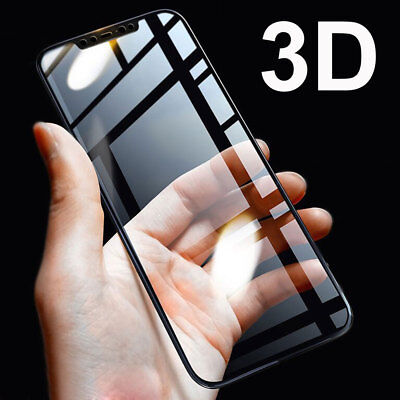 5D For Huawei Y6 /Y7/Y9(2018) P Smart Screen Protector Temper Glass Protect Film