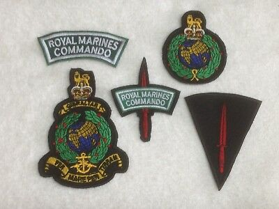 Royal Marines Commando - Embroidered Patch / Badge - Sew On Breast / Biker Patch