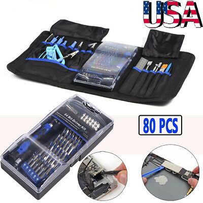 80 In 1 Universal Screen Removal Professional Opening Repair Tool Kit Pry Tools
