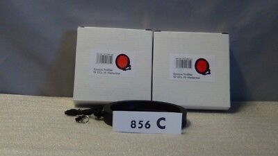 2 x Epoque Rotfilter Color correction Filter für DCL20 Weitwinkel (HOV