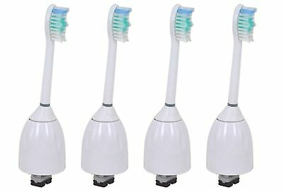 4X Philips Sonicare E Series HX7002 Replacement Toothbrush Brush Heads in 2 Pack